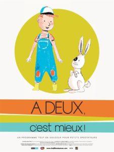 """Affiche du film """"A DEUX, C'EST MIEUX !"""""""