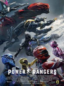 "Affiche du film ""Power Rangers"""