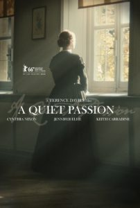 "Affiche du film ""Emily Dickinson, a Quiet Passion"""