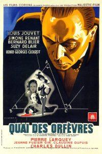 """Affiche du film """"Quai des Orfèvres"""""""