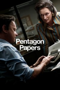 "Affiche du film ""Pentagon Papers"""