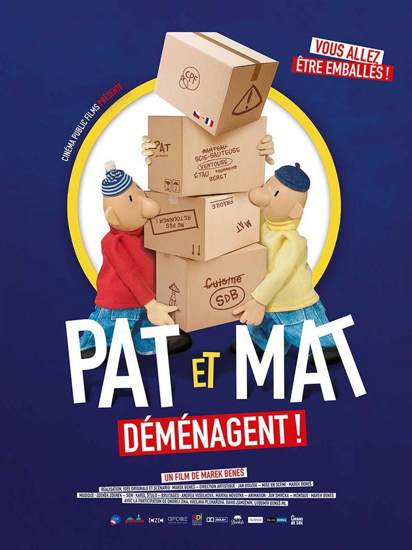Pat et Mat déménagent !