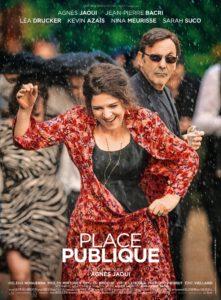 """Affiche du film """"Place publique"""""""