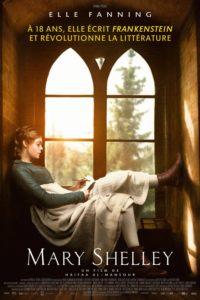 "Affiche du film ""Mary Shelley"""