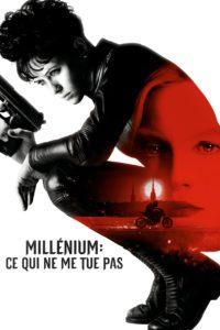 """Affiche du film """"Millénium: Ce qui ne me tue pas"""""""