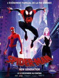 """Affiche du film """"Spider-Man : New Generation"""""""