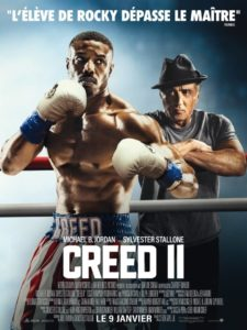 "Affiche du film ""Creed II"""