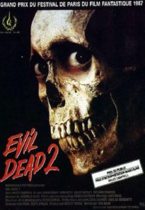 """Affiche du film """"Evil Dead 2"""""""