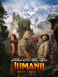 "Affiche du film ""Jumanji : next level"""