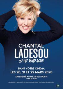 "Affiche du film ""Chantal Ladesou – On the road again"""