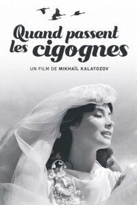 """Affiche du film """"Quand passent les cigognes"""""""