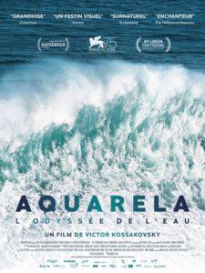 """Affiche du film """"Aquarela - l'Odyssée de l'eau"""""""