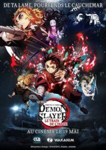 """Affiche du film """"Demon Slayer : Le train de l'infini"""""""