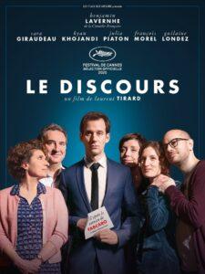 """Affiche du film """"Le Discours"""""""