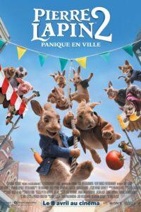 """Affiche du film """"Pierre Lapin 2 : Panique en ville"""""""