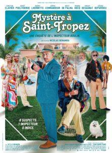 """Affiche du film """"Mystère à Saint-Tropez"""""""