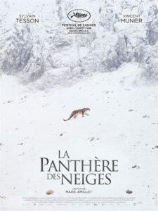 """Affiche du film """"La panthère des neiges"""""""